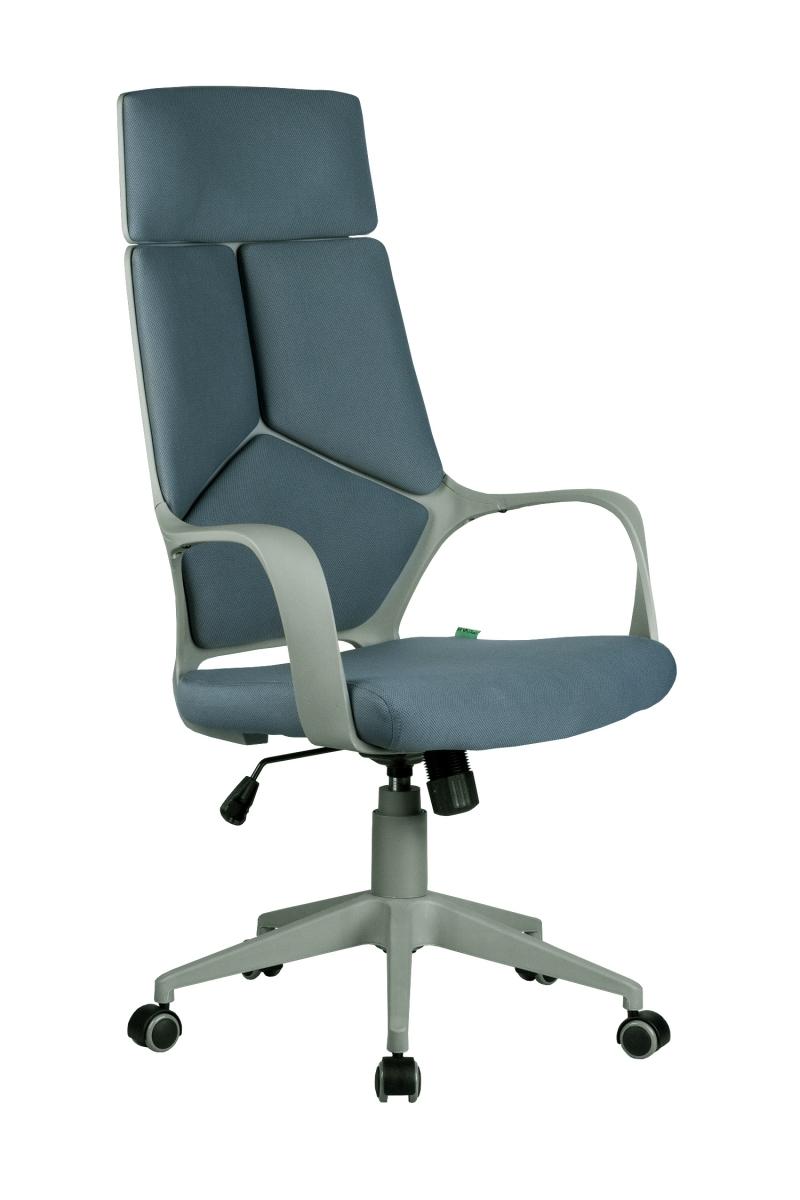 Кресло-RCH-8989-серый-пластик-серая-ткань-1