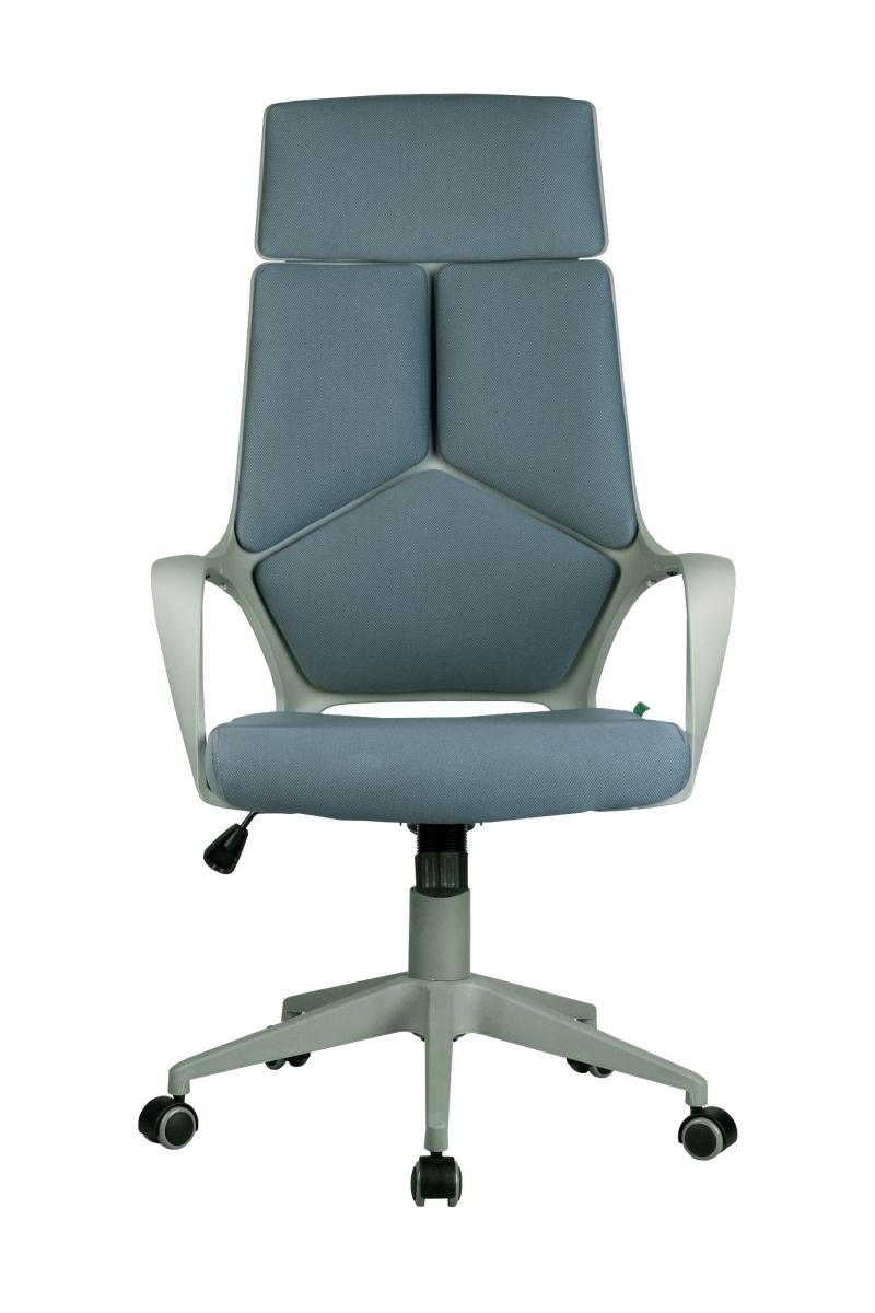 Кресло-RCH-8989-серый-пластик-серая-ткань-2