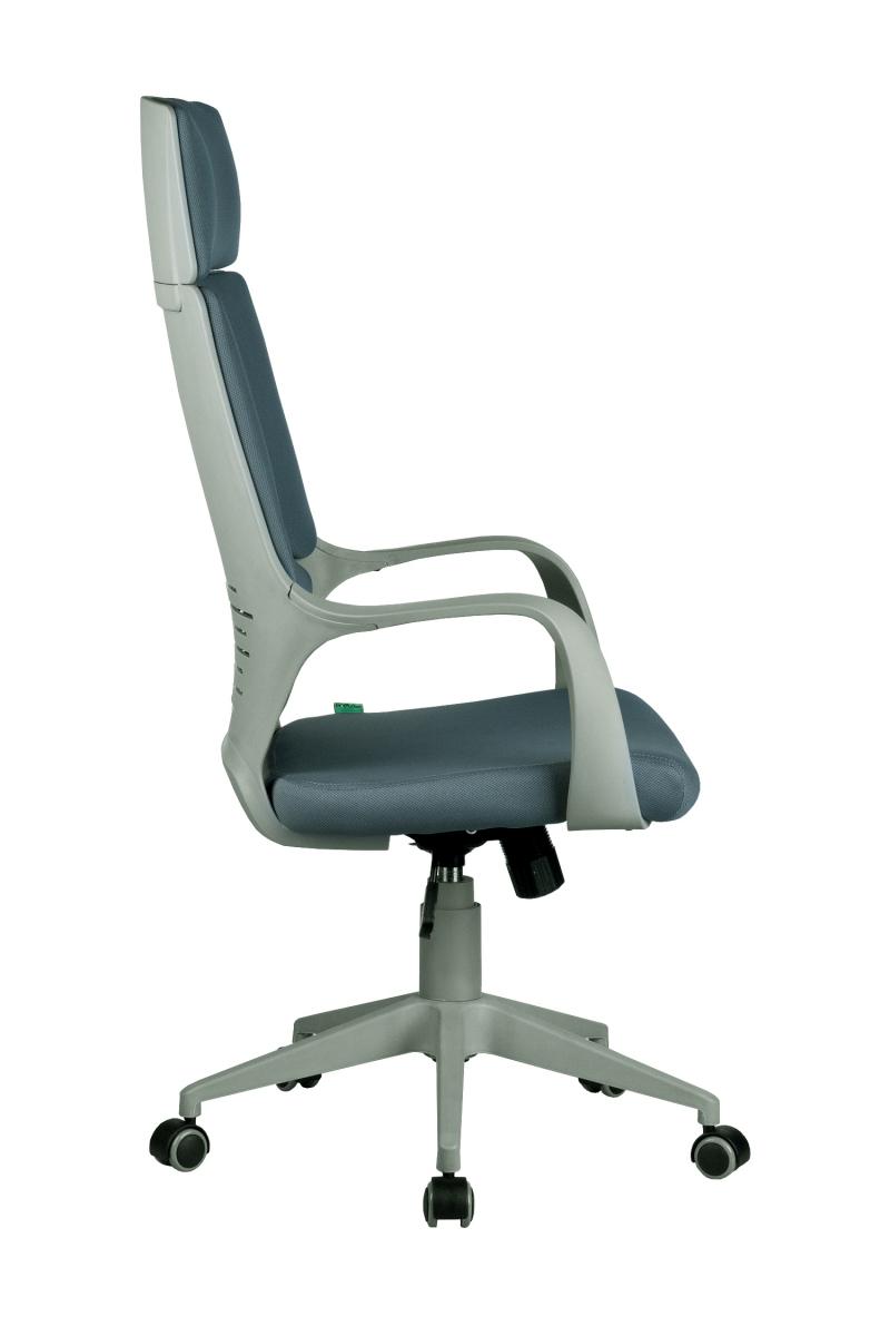 Кресло-RCH-8989-серый-пластик-серая-ткань-3