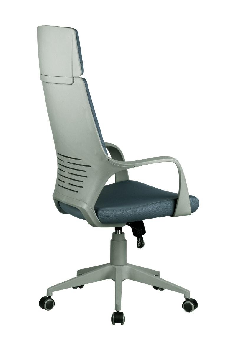 Кресло-RCH-8989-серый-пластик-серая-ткань-4