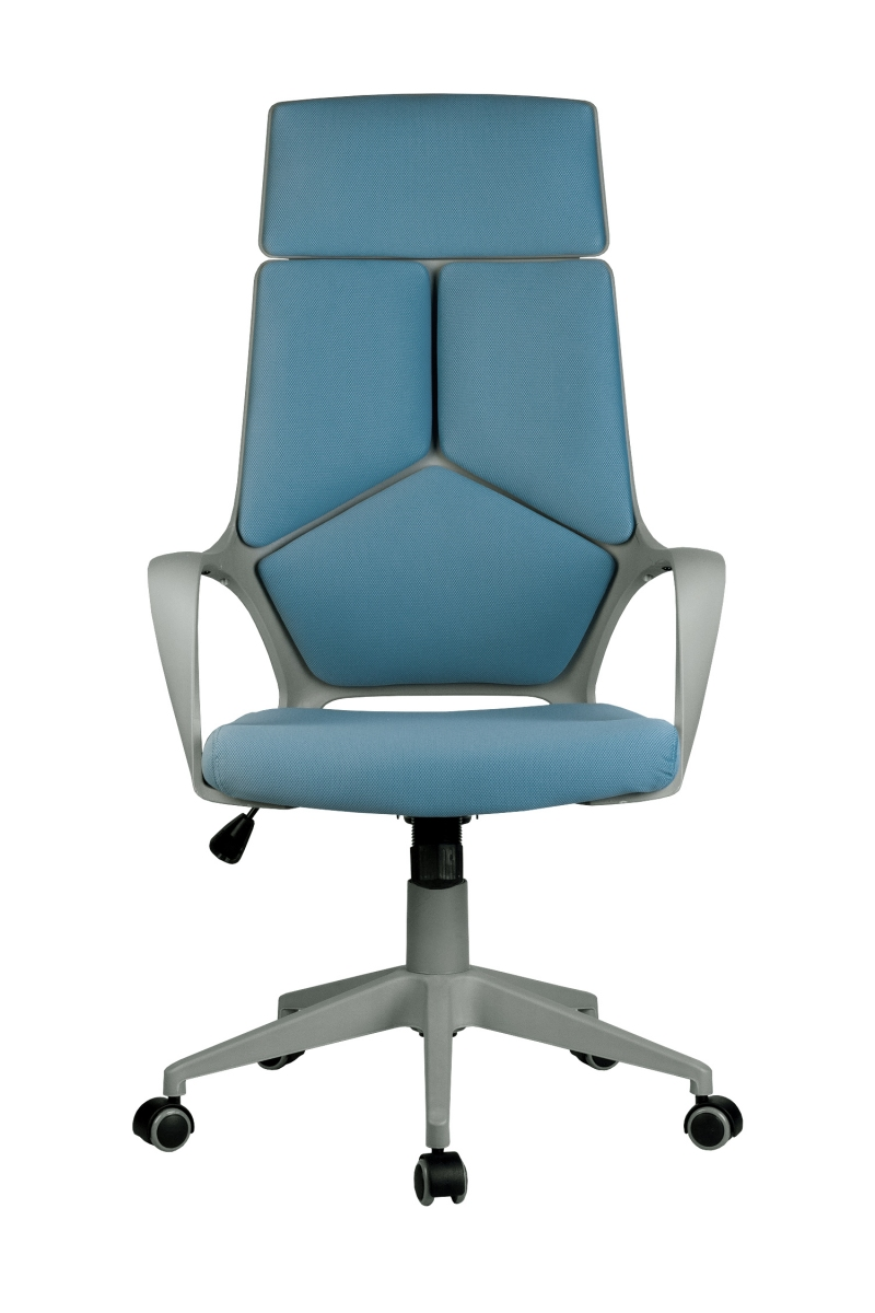 Кресло-RCH-8989-серый-пластик-синяя-ткань-2