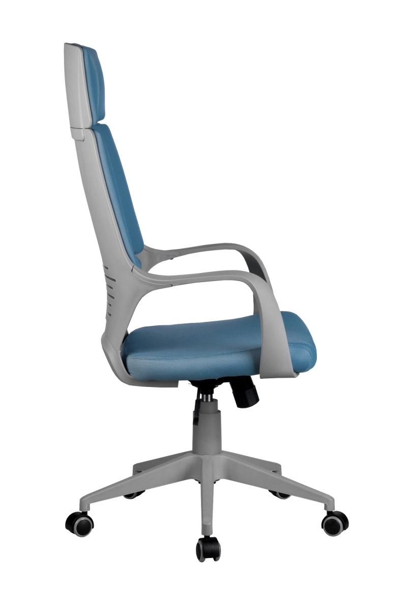 Кресло-RCH-8989-серый-пластик-синяя-ткань-3