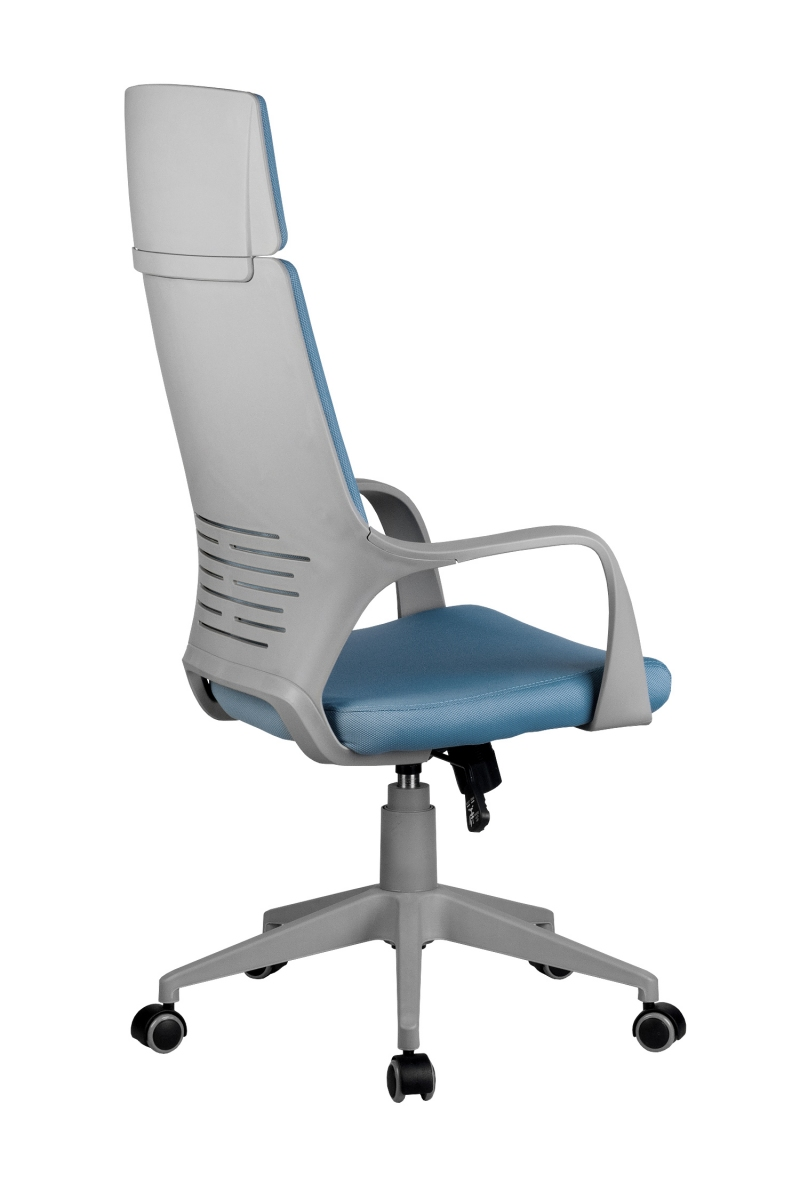 Кресло-RCH-8989-серый-пластик-синяя-ткань-4