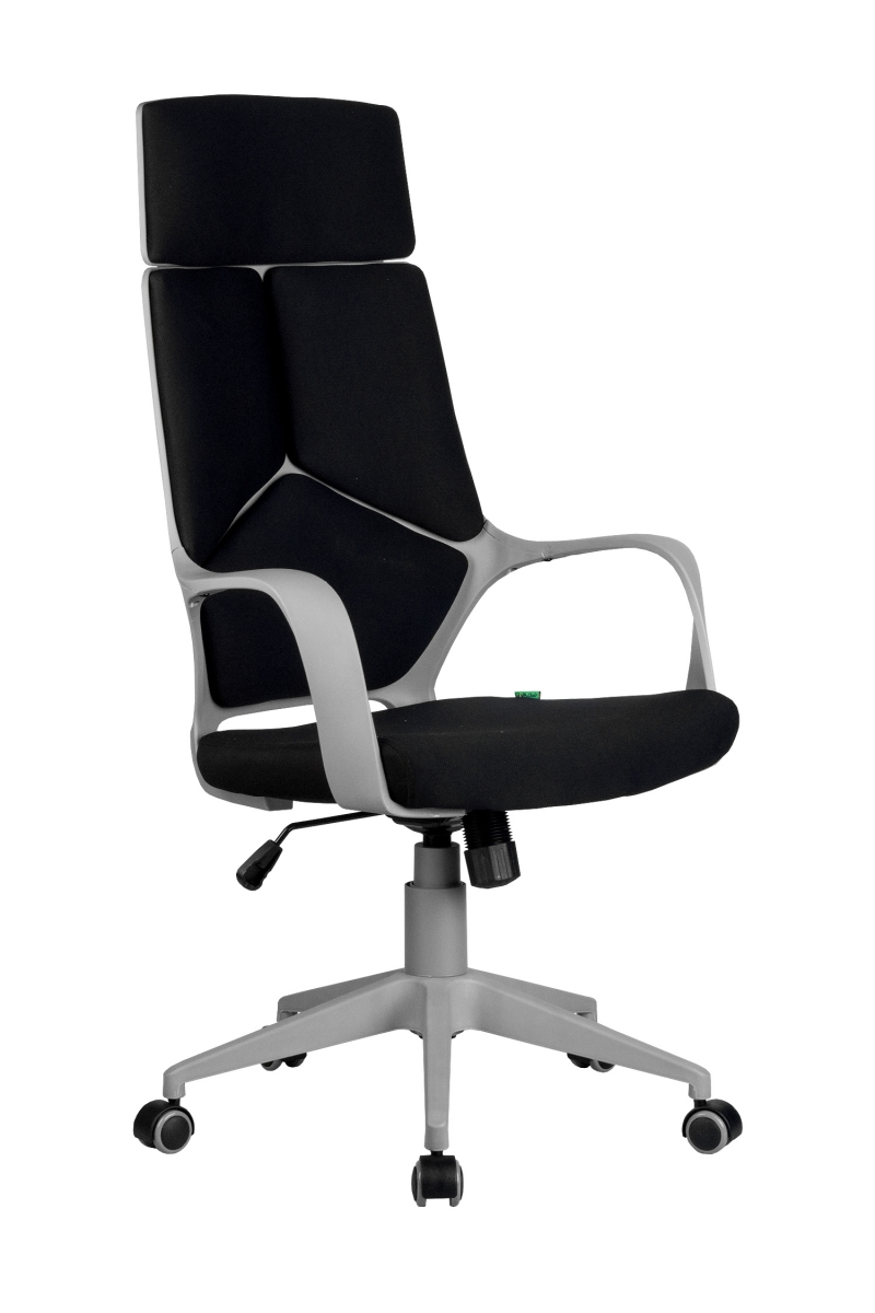 Кресло-RCH-8989-серый-пластик-черная-ткань-1