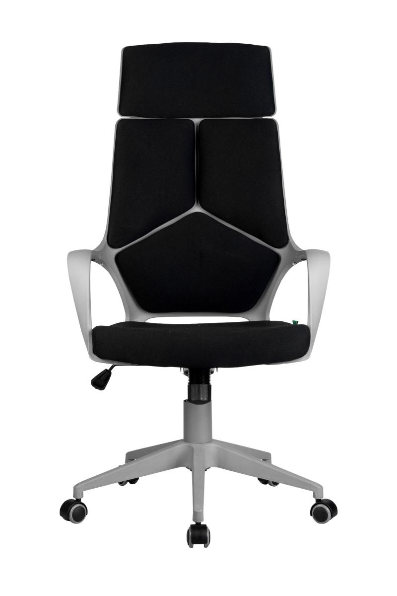 Кресло-RCH-8989-серый-пластик-черная-ткань-2
