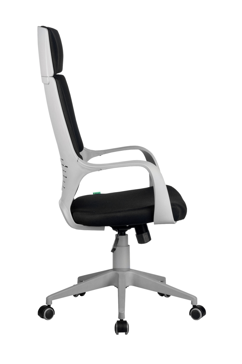 Кресло-RCH-8989-серый-пластик-черная-ткань-3