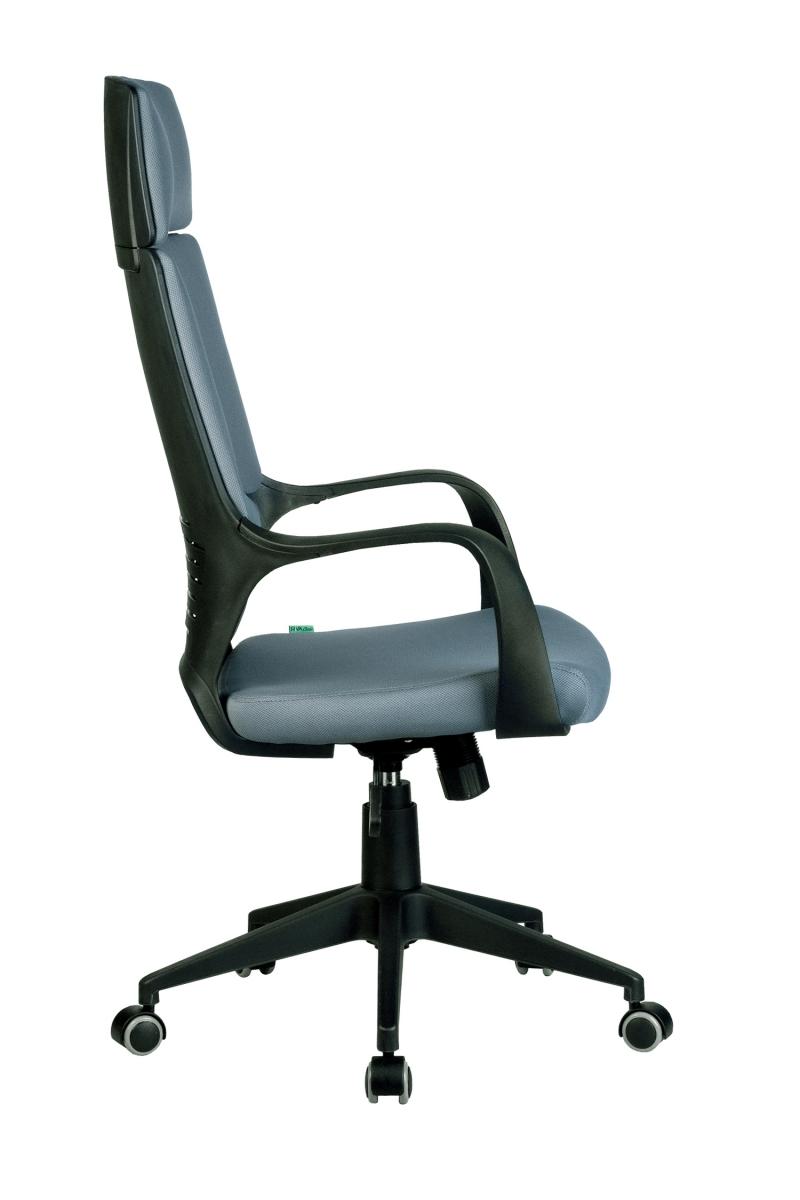 Кресло-RCH-8989-черный-пластик-серая-ткань-3