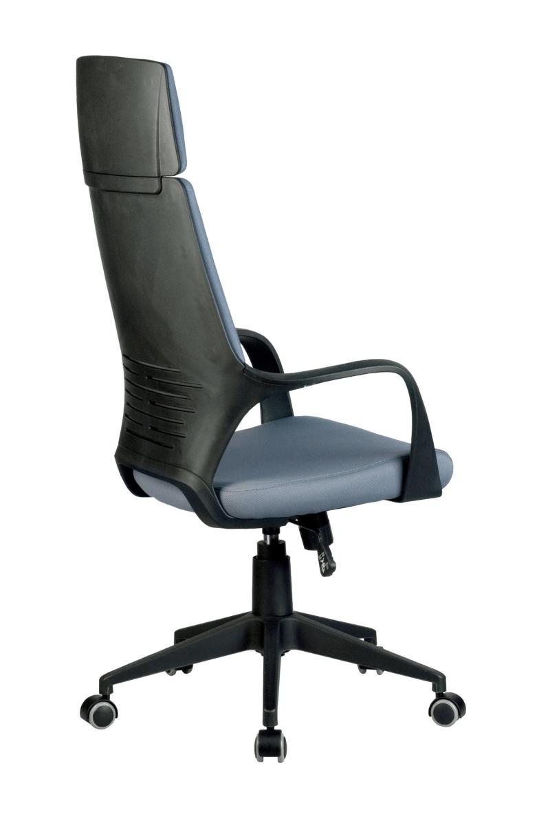 Кресло-RCH-8989-черный-пластик-серая-ткань-4