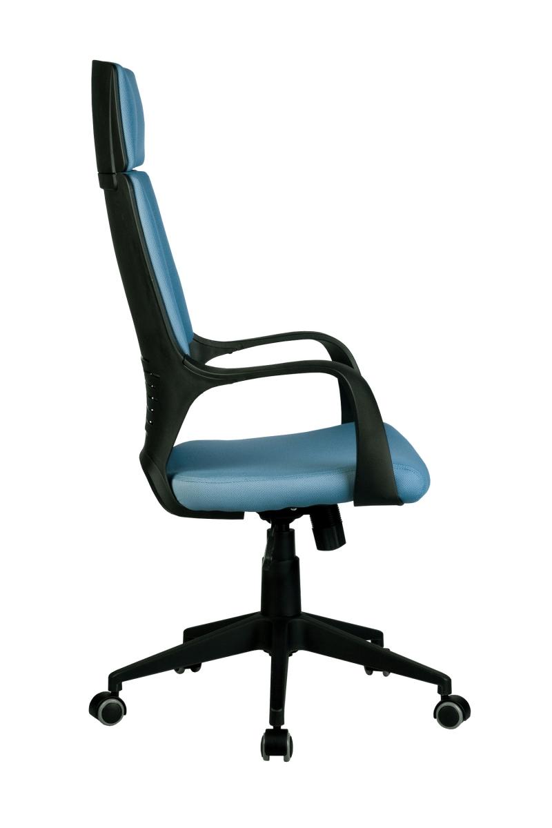 Кресло-RCH-8989-черный-пластик-синяя-ткань-3