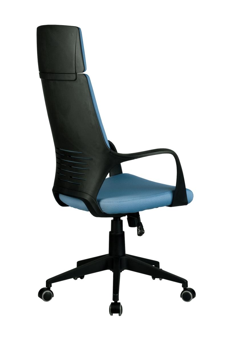 Кресло-RCH-8989-черный-пластик-синяя-ткань-4