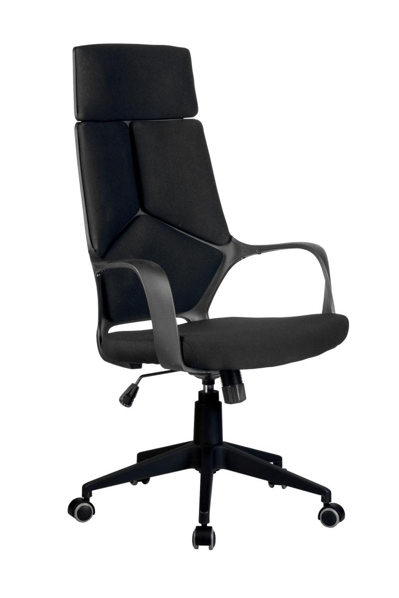 Кресло-RCH-8989-черный-пластик-черная-ткань-1
