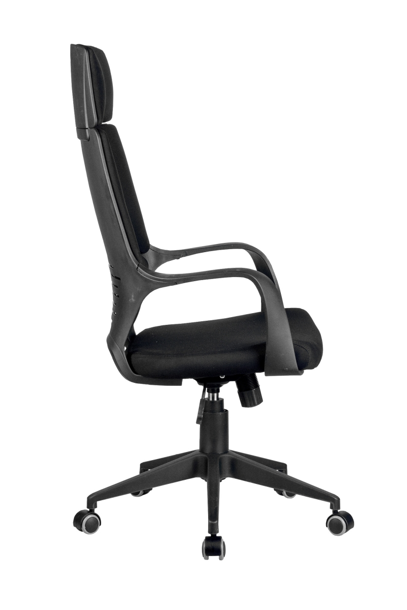 Кресло-RCH-8989-черный-пластик-черная-ткань-3
