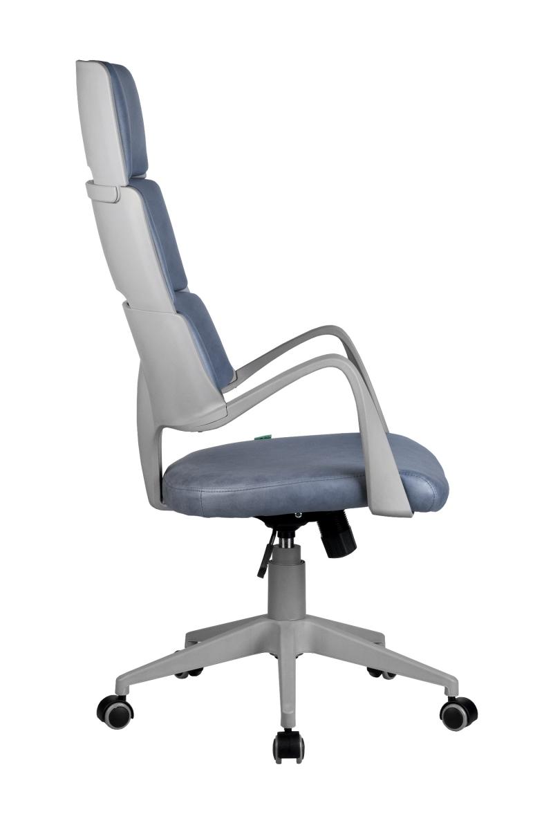Кресло-RCH-Sakura-серый-пластик-ткань-фьюжн-Альпийское-озеро-3