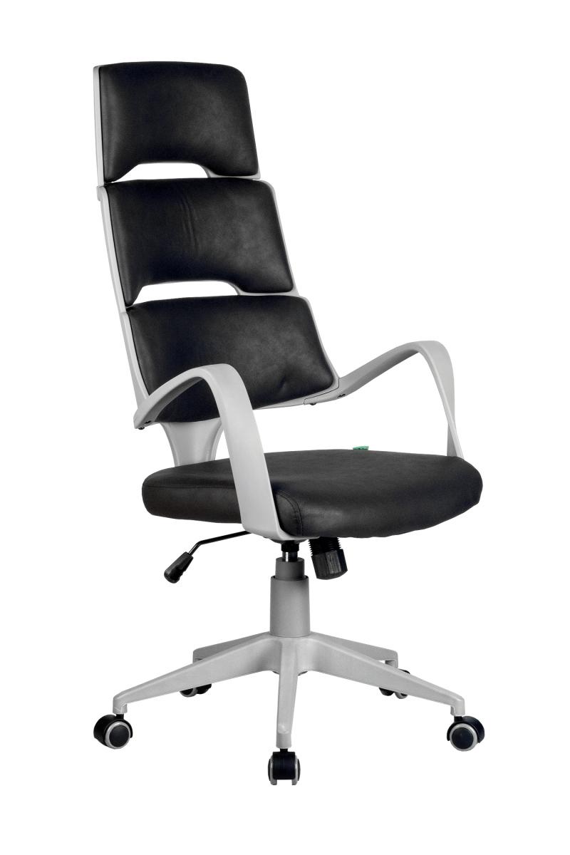 Кресло-RCH-Sakura-серый-пластик-ткань-фьюжн-черный1