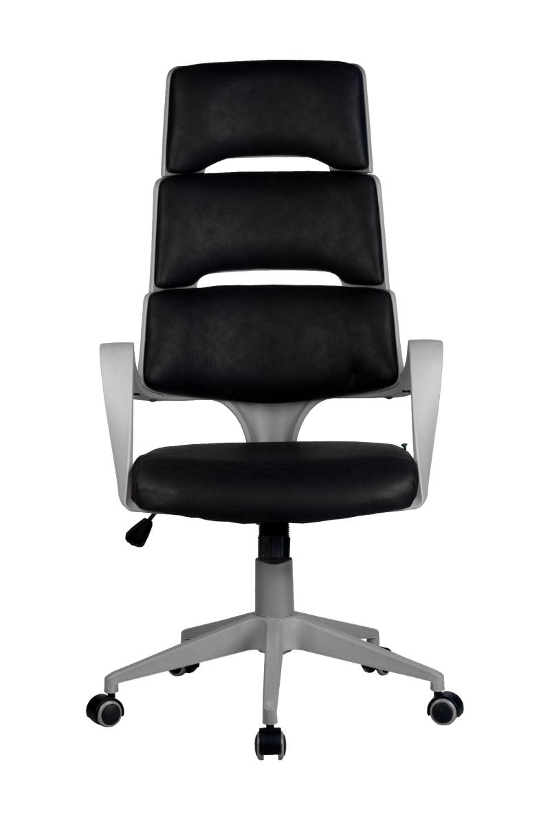Кресло-RCH-Sakura-серый-пластик-ткань-фьюжн-черный2
