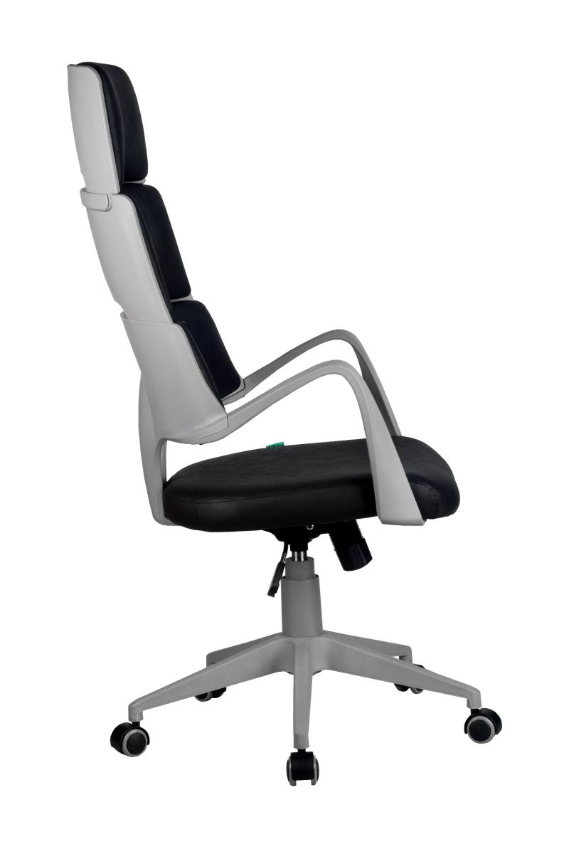 Кресло-RCH-Sakura-серый-пластик-ткань-фьюжн-черный3