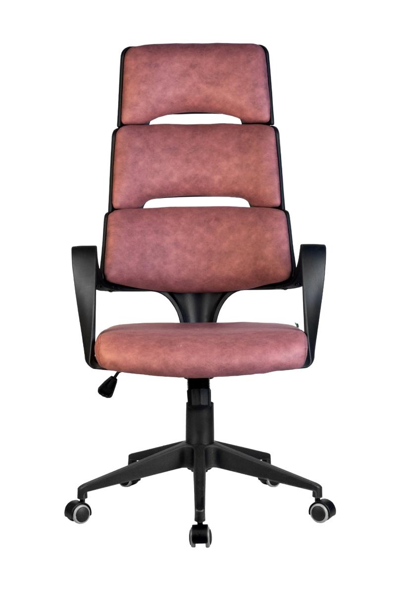 Кресло-RCH-Sakura-черный-пластик-ткань-фьюжн-терракота2