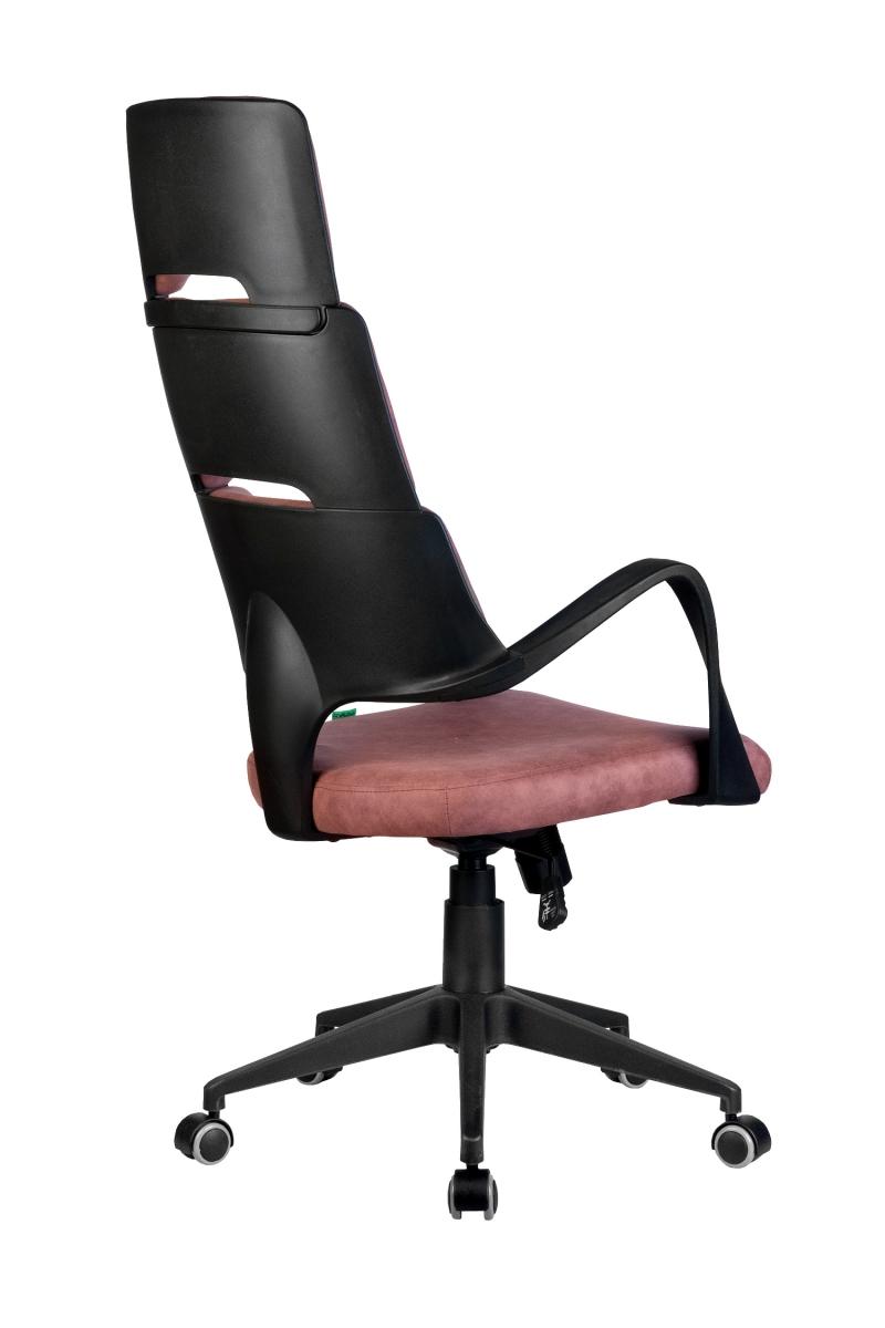 Кресло-RCH-Sakura-черный-пластик-ткань-фьюжн-терракота4
