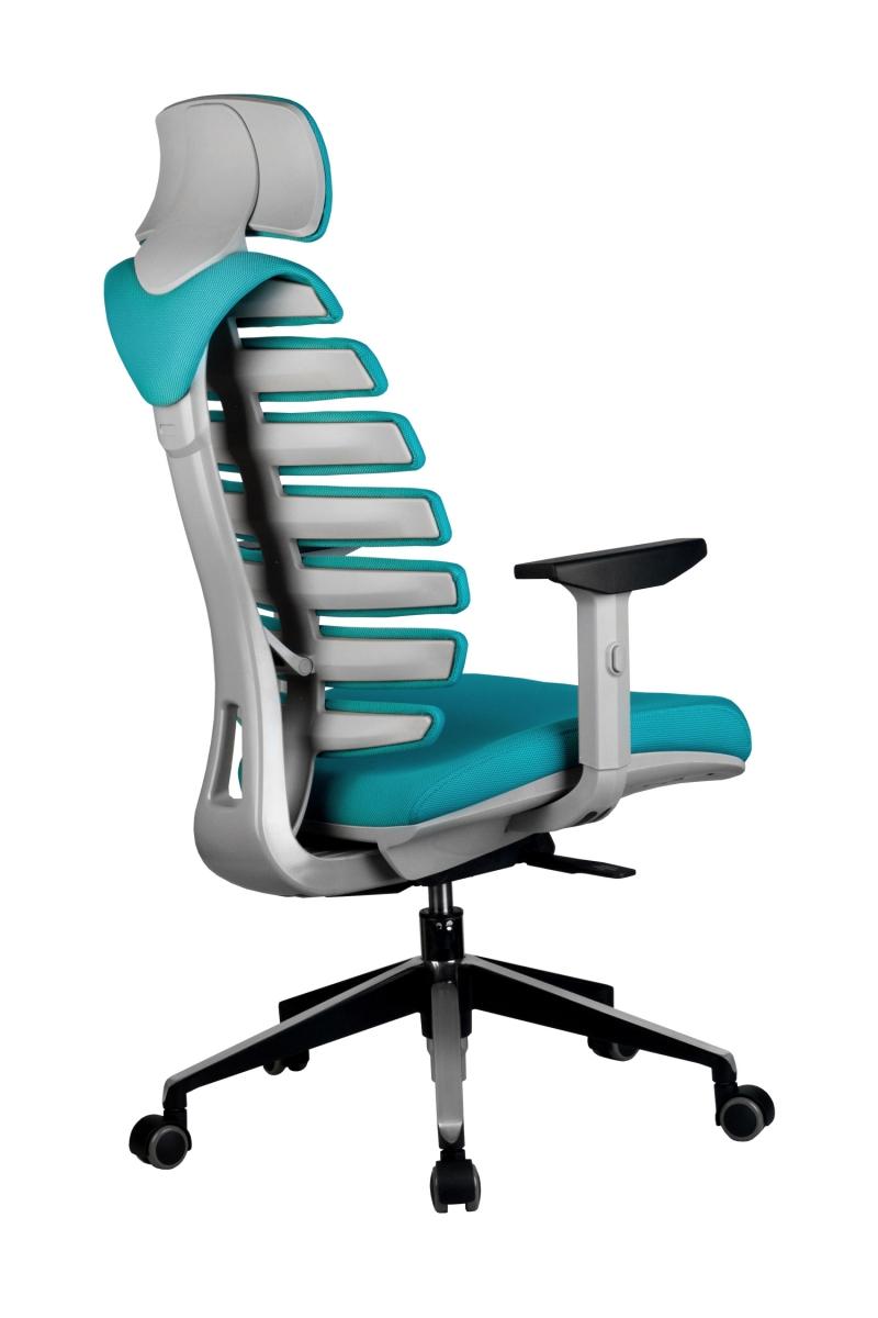 Кресло-RCH-Shark-серый-пластик-ткань-лазурная-4