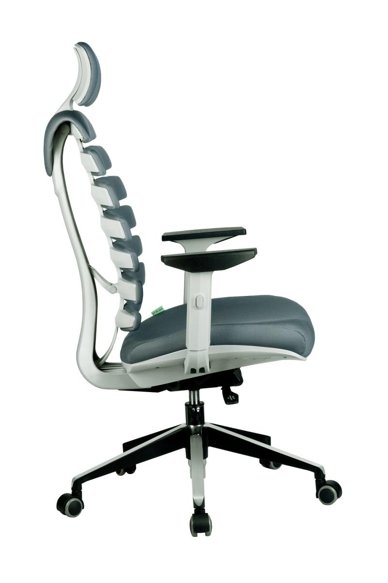 Кресло-RCH-Shark-серый-пластик-ткань-серая-3